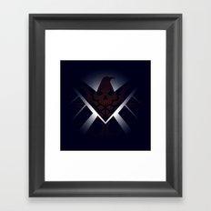 Hidden HYDRA – S.H.I.E.L.D. Logo Sans Wording Framed Art Print