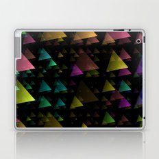 Drifting Triangles Laptop & iPad Skin