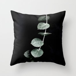 Listening to Silence Throw Pillow