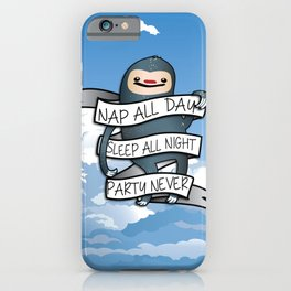 Nap all day iPhone Case