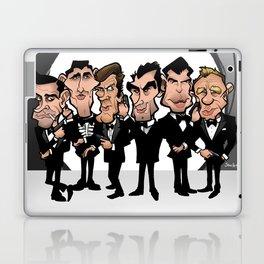 Faces of Bond Laptop & iPad Skin