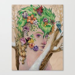 Wandering Season Canvas Print