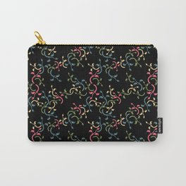 Flower Choral Carry-All Pouch