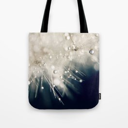 dandelion evening blue Tote Bag
