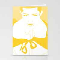 the vampire diaries Stationery Cards featuring Vampire by Jessica Slater Design & Illustration