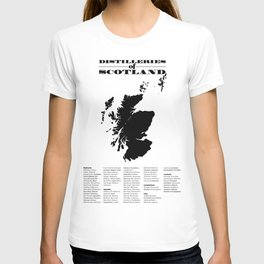 Distilleries of Scotland T-shirt