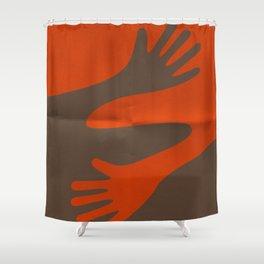 A·BRAZO - HUG Shower Curtain