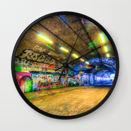 Leake Street London Wall Clock