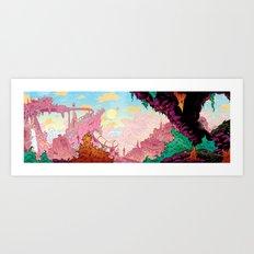 The City Inside My Head Art Print