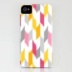 Ikat Stripes Slim Case iPhone (4, 4s)