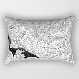 Muse and Creation Rectangular Pillow