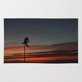 Lonely Sunset Rug