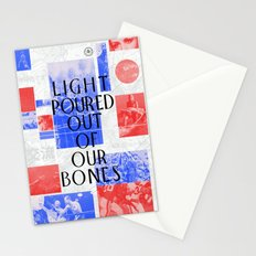 Light Poured Out of Our Bones Stationery Cards