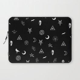 Goth Symbols Pattern Laptop Sleeve