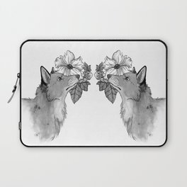 Flower Fox Laptop Sleeve