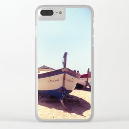 Quien maneja mi barca? Clear iPhone Case