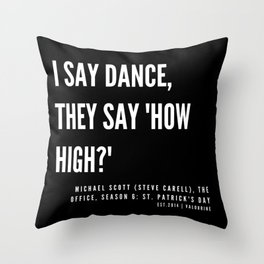 11   |  Office Quote Series  | 190611 Throw Pillow