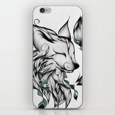 Fox B&W  iPhone & iPod Skin