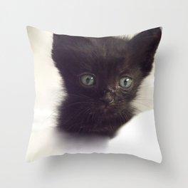 Zeze again Throw Pillow