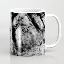 abstract misty forest painting hvhdbw Coffee Mug
