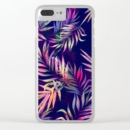Tropical Infusion Clear iPhone Case