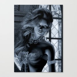 Vestal Virgin Canvas Print
