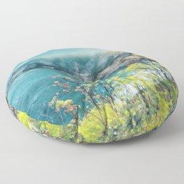 California Dreamin' Floor Pillow