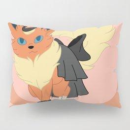 Fire Steampunk Fox Pillow Sham