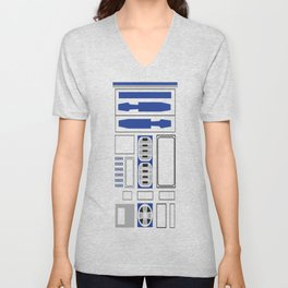 R2-D2 Uniform Unisex V-Neck