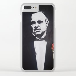 Godfather Clear iPhone Case