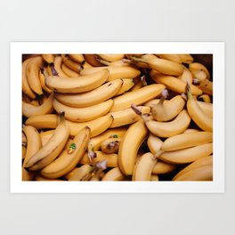 Going Bananas Art Print