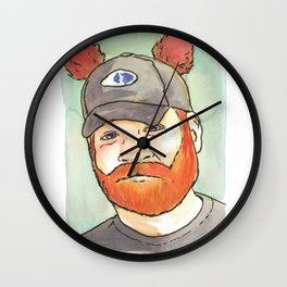 Come along and sing our song and join our family  G-I-N-G-E-R B-E-A-R! Wall Clock