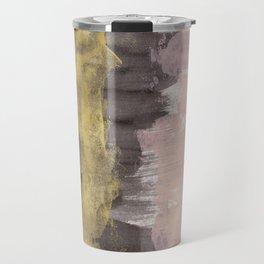 Black / Pink / Gold Travel Mug