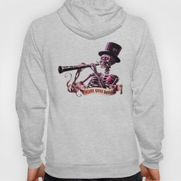 """""""Move your body!"""" - The musician skeleton Hoody"""