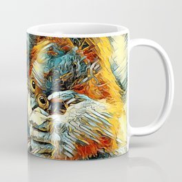 AnimalArt_OrangUtan_20170603_by_JAMColorsSpecial Coffee Mug