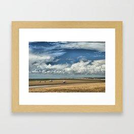 Instow North Devon uk Framed Art Print