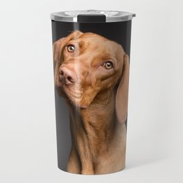 Dog Head Tilt (Pet Portrait) Travel Mug