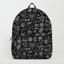 Conspiracy pattern (Censored version) Backpack