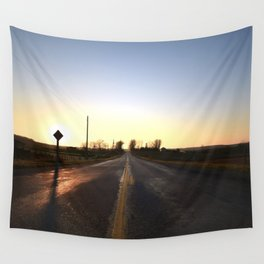 We Don't Need Roads Wall Tapestry