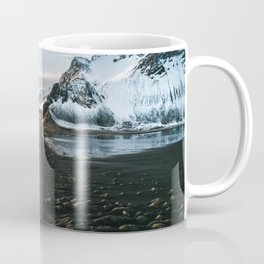 Mountain beach road in Iceland - Landscape Photography Coffee Mug