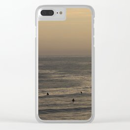 Surfin' Clear iPhone Case
