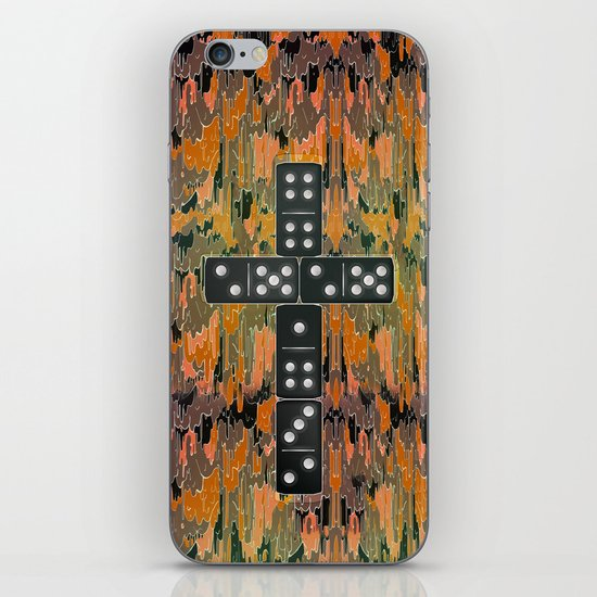 Holy Domino iPhone & iPod Skin