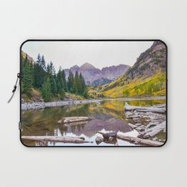 Maroon Bells in the fall Laptop Sleeve