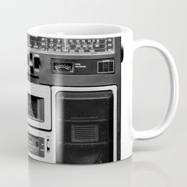 cassette recorder / audio player - 80s radio Coffee Mug