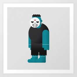 Frankenstein / Jason Art Print
