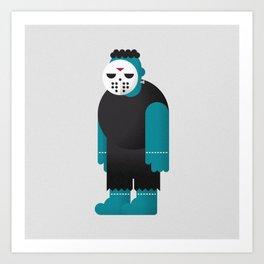 Frankenstein / Jason Art Print
