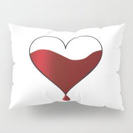 My heart knocking for you. Pillow Sham