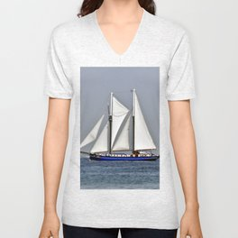 SAILORS WORLD - Baltic Sea Unisex V-Neck