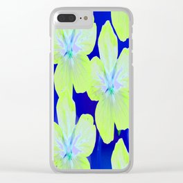 Retro Flowers II #decor #society6 Clear iPhone Case