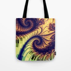 Abstract spirals and patterns Tote Bag